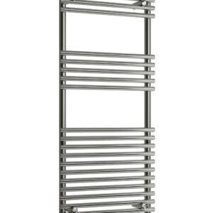 reina pavia towel rail radiator chrome vertical chrome modern mild steel