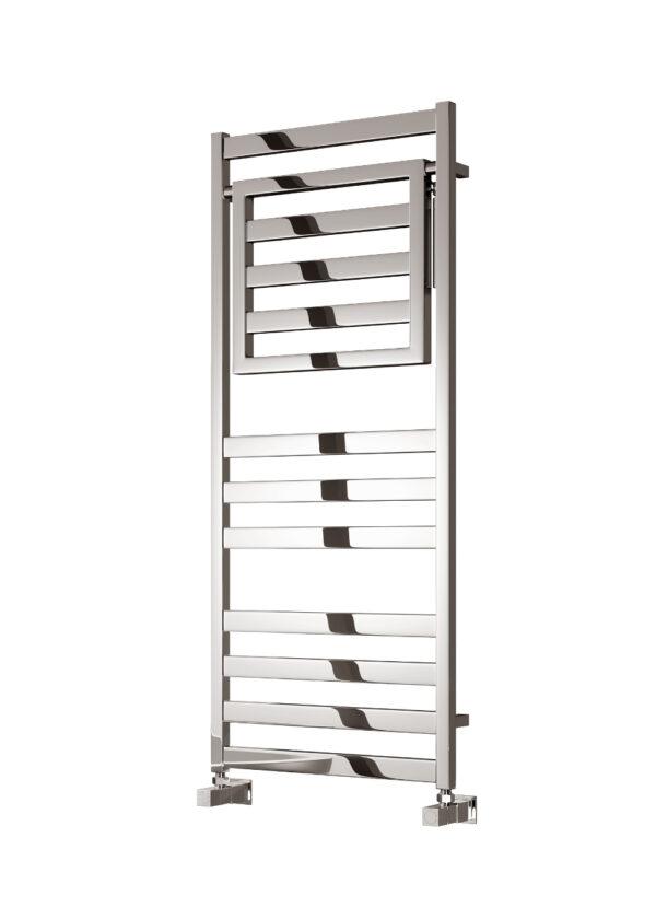 reina porte towel rail radiator mild steel chrome modern