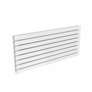reina rione double single white horzontal radiator modern white