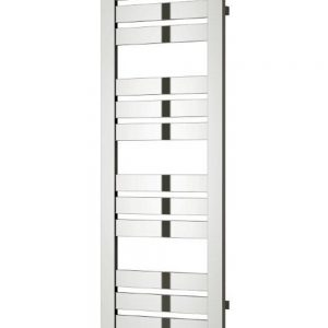 reina riva towel rail radiator chrome vertical mild steel chrome modern