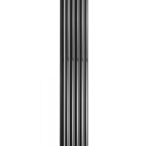 reina round single double vertical mild steel white radiator