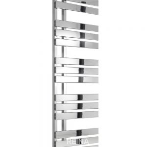 reina sesia towel rail radiator modern vertical chrome mild steel