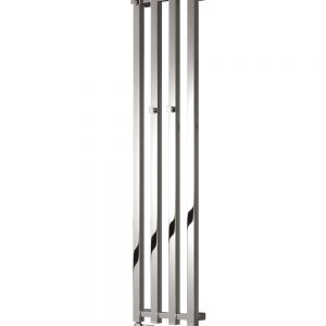 reina todi vertical radiator mild steel chrome modern
