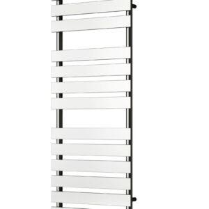 reina trento towel rail radiator modern mild steel chrome