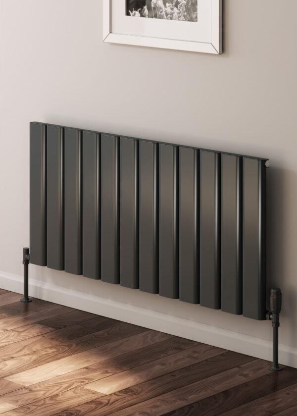 reina vicari single double horizontal aluminium modern radiator white anthracite