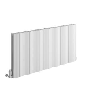 reina wave horizontal modern radiator anthracite white modern