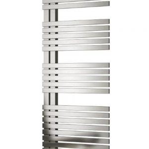 reina entice brushed stainless steel modern towel rail radiator