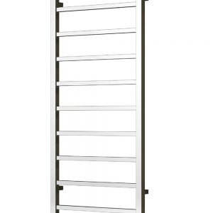 reina serena towel rail radiator chrome modern vertical